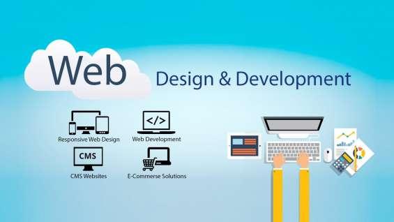 Get professional website designing and development services in delhi