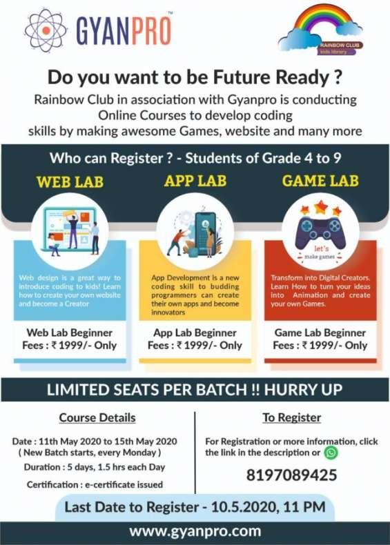 Gyanpro's online stem course 2020 kids
