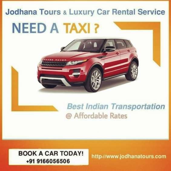 Car hire in jodhpur