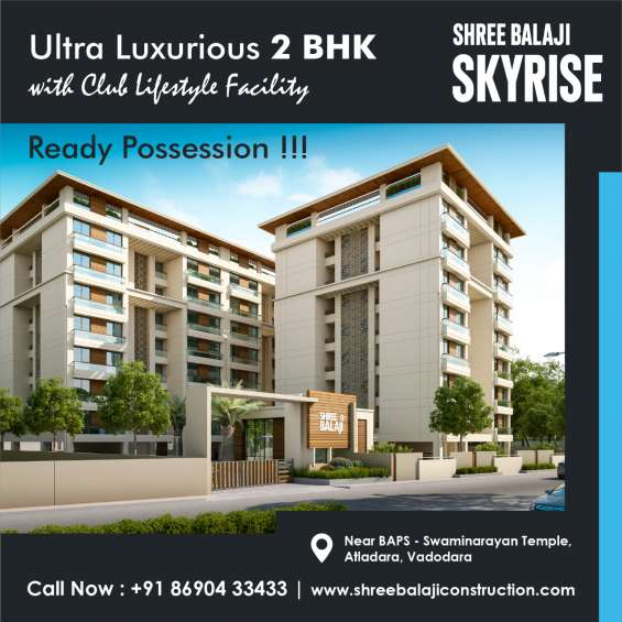 1st time premium 2 bhk apartments with dedicated club-house.