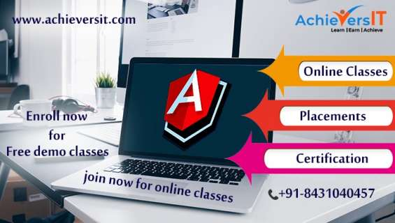 Best angular training by achievers it