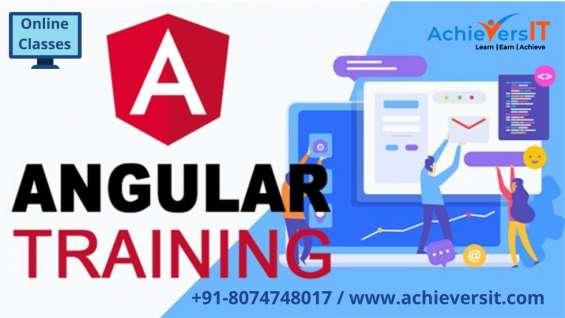 Best angular training by achievers it