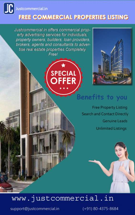 Rent / sale / buy / lease commercial property