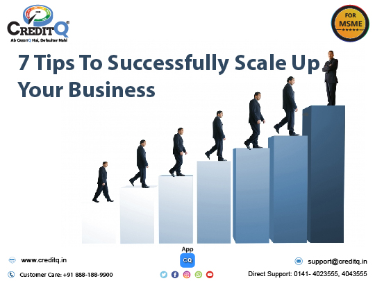 7 tips to successfully scale up your business
