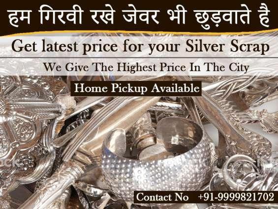 Scrap silver buyer