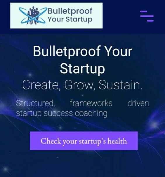 Bulletproof startup