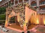 Wedding Stage Decoration, Outdoor Wedding Decoration, Flower Decoration