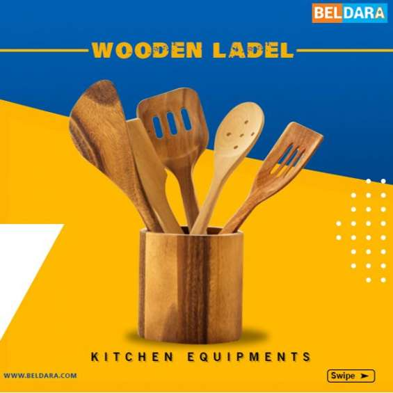 Buy wooden ladel kitchen equipment with 100% payment protection