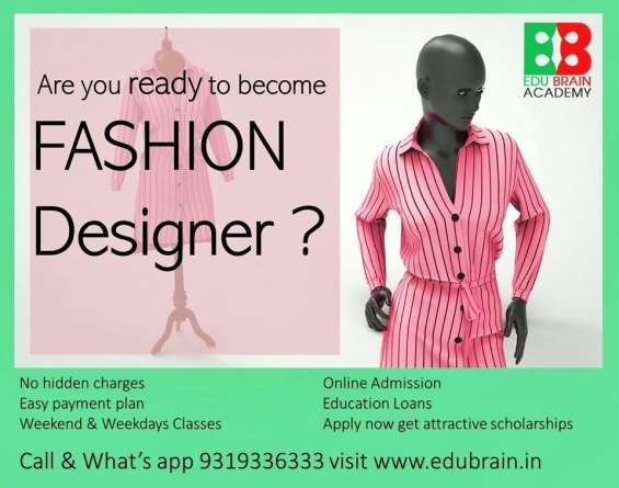 Diploma in the field of in fashion designing