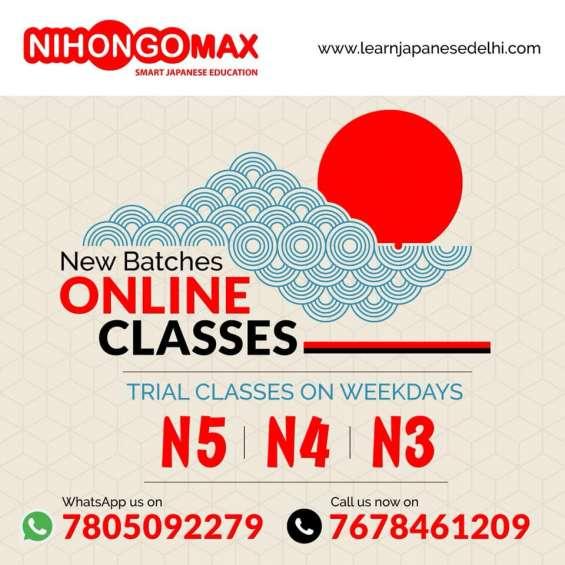Learn japanese in delhi from nihongomax