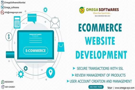Ecommerce website design company in mumbai india