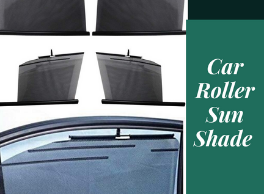 Buy car window automatic roll up & down sunshade