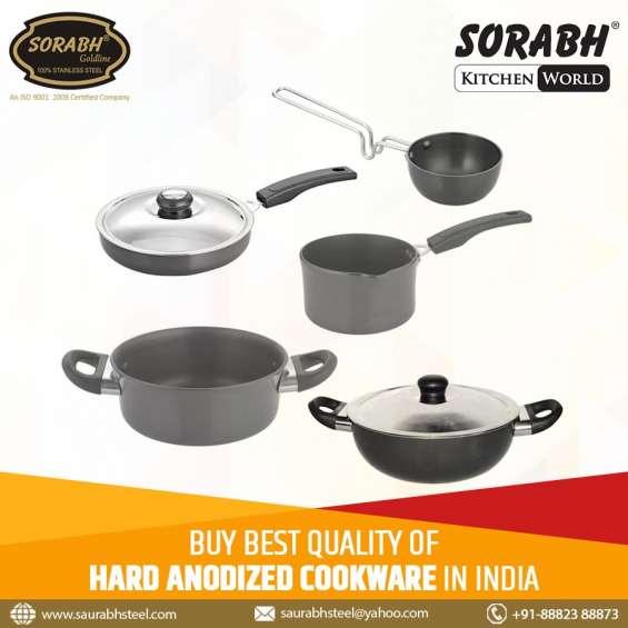 Buy premium quality stainless steel utensil from saurabh steel
