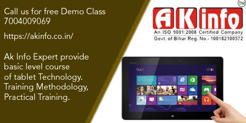 Excellent tablet repairing course in delhi