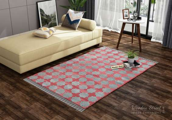 Buy fur rugs online only at wooden street in india at best prices
