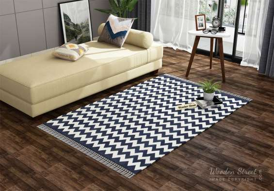 Buy latest kitchen rugs online only from wooden street at best prices