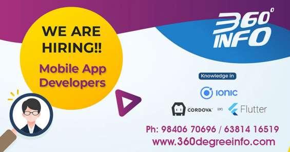 We are hiring for web/php (laravel or codeigniter) developer