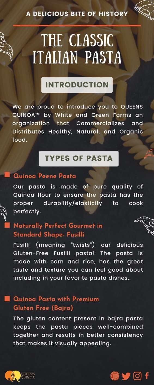 The classic italian quinoa pasta - queen's quinoa