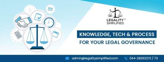 Legal compliance management software