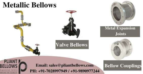 Metal bellows manufacturers in india   metal expansion joints