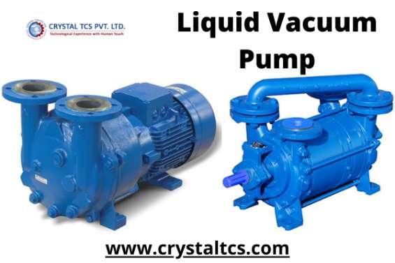 Liquid vacuum pump by crystaltcs