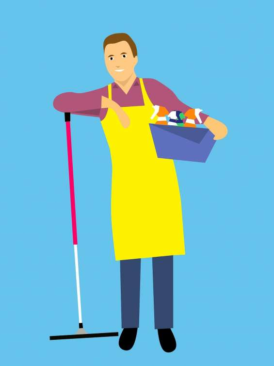 Full home deep cleaning services in rajkot