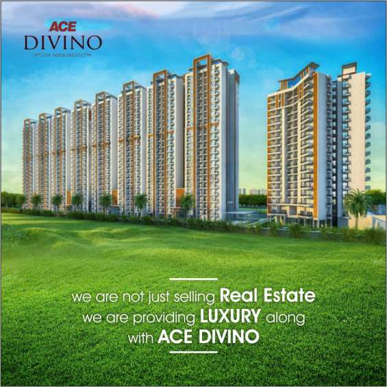 Buy 2/3 bhk luxurious apartments ace divino in noida extension