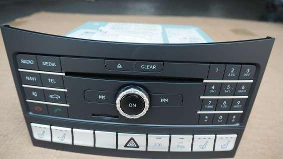 Mercedes w218 cls 400 2017 radio control unit