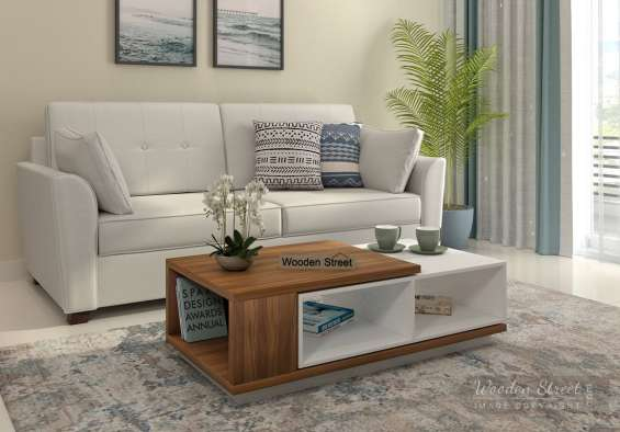 Get woooden tables online at up to 55% off only from wooden street in india