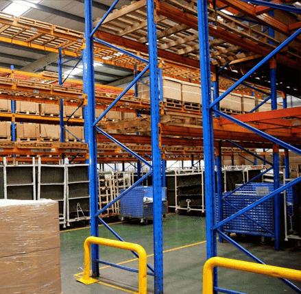 Industrial storage rack manufacturers