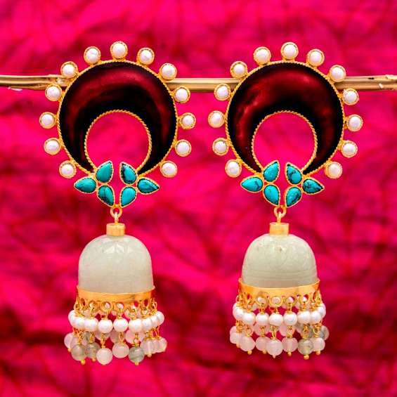 Shop pure silver earrings online at affordable price
