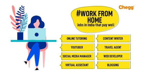 Top 10 work from home jobs in india that pay well