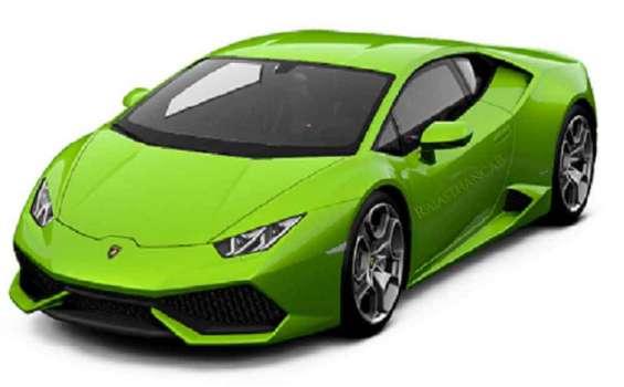 Lamborghini car on rent jaipur