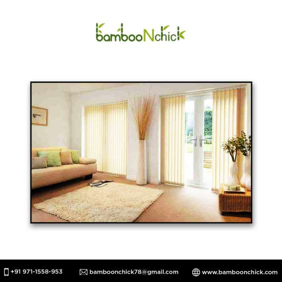 Bamboo chick blinds in delhi