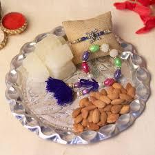 Online send raksha bandhan thali