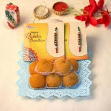 Send rakhi with sweets online