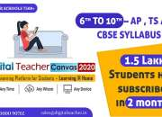 Online learning Platform / Digital Teacher Canvas