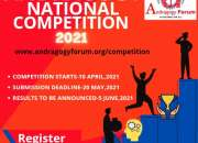 This is a national competition , open to all students to create blogs, videos etc. only in