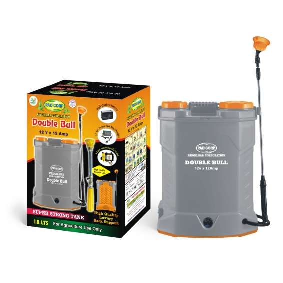 Buy power spray pump for agriculture   padcorp double bull battery sprayer
