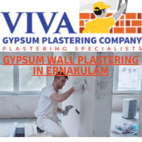 Best gypsum plastering services in ernakulam-viva gypsum.