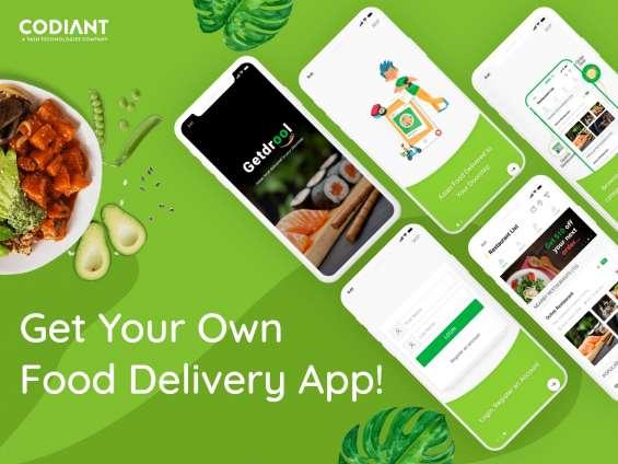 Online food delivery app development