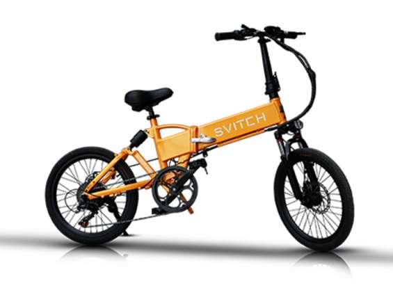 Svitch foldable electric bike