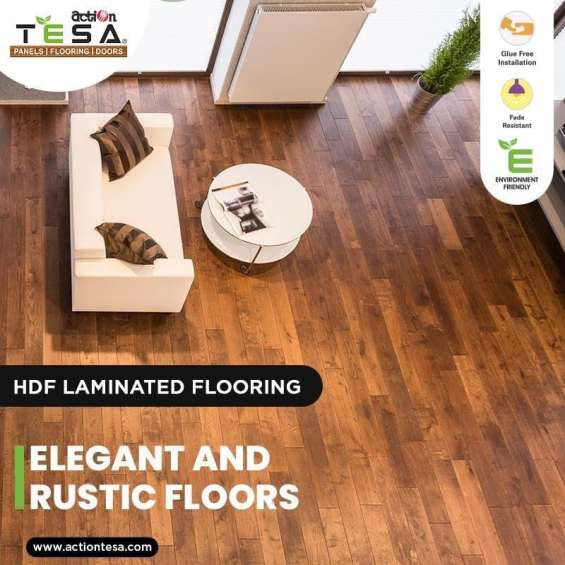 Action tesa hdf laminated flooring