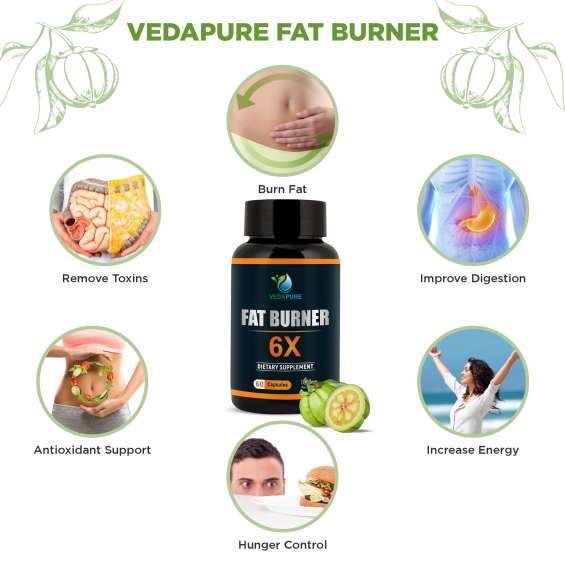 Vedapure fat burner 6x weight management