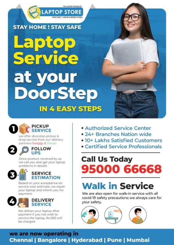 Door step laptop service chennai call 9500066668
