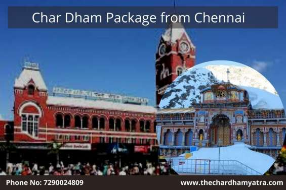Char dham package from chennai