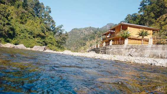 River side resorts situated in lansdowne near delhi