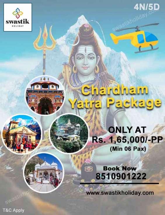 Chardham yatra by charter