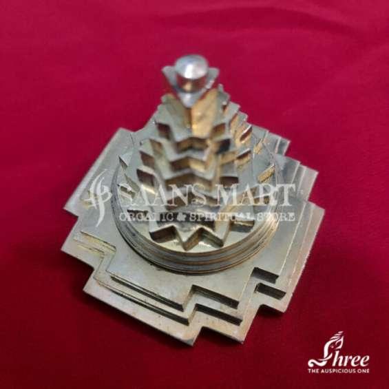 Brass shriyantra