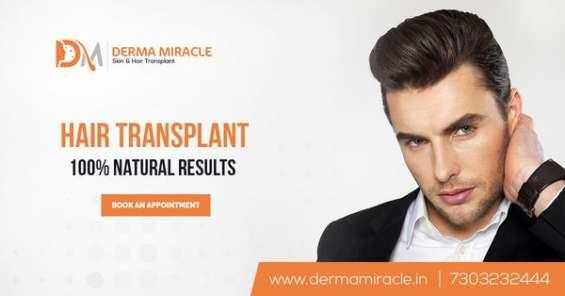 Derma miracle hair transplant & skin treatment clinic